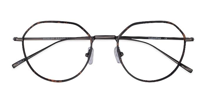 Tortoise  Gunmetal Huxley -  Metal Eyeglasses