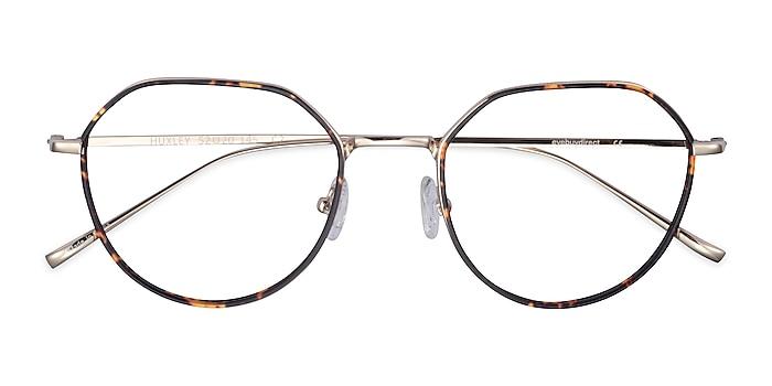 Tortoise  Golden Huxley -  Metal Eyeglasses
