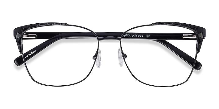Black Signora -  Acetate, Metal Eyeglasses
