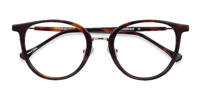 Tortoise Shelby -  Acetate, Metal Eyeglasses