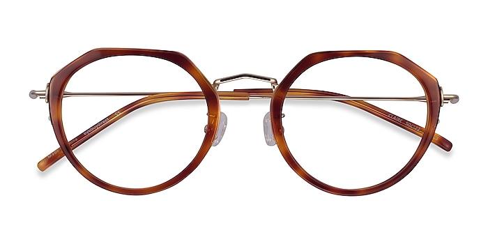 Tortoise  Gold Claire -  Acetate Eyeglasses