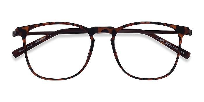 Tortoise Avery -  Plastic, Metal Eyeglasses