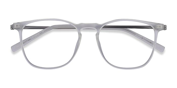 Clear Avery -  Plastic, Metal Eyeglasses