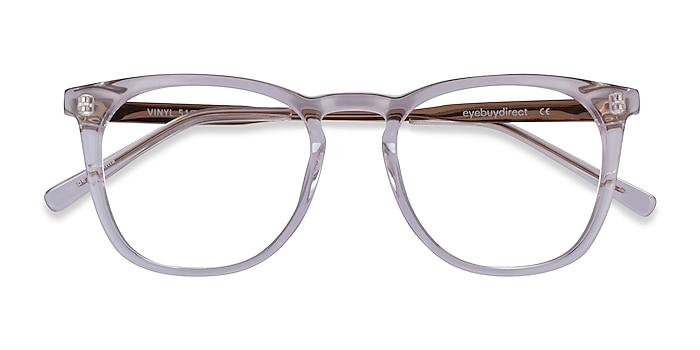 Clear Vinyl -  Geek Acetate Eyeglasses