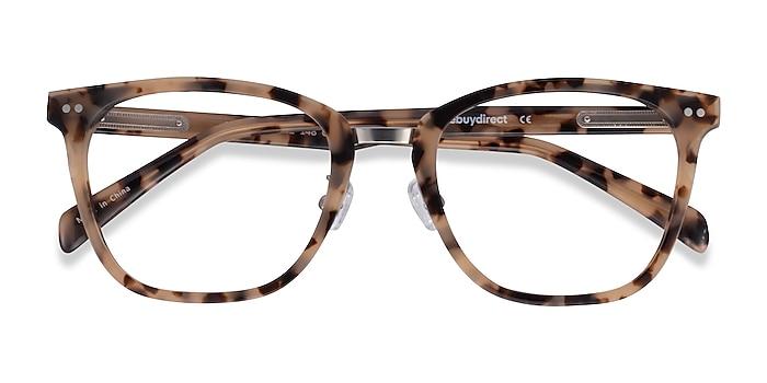 Ivory Tortoise Biblio -  Acetate, Metal Eyeglasses