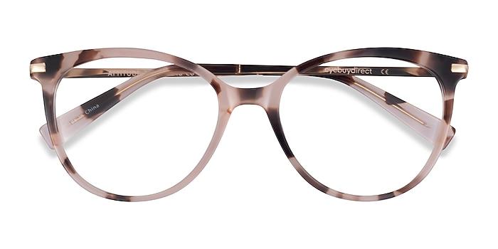 Pink Ivory Tortoise Attitude -  Acetate Eyeglasses