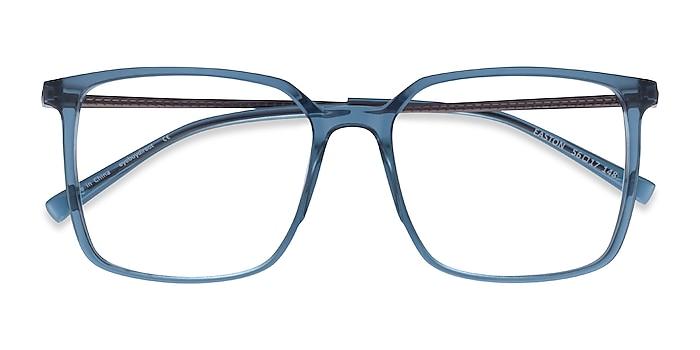 Clear Blue Easton -  Geek Acetate, Metal Lunettes de vue