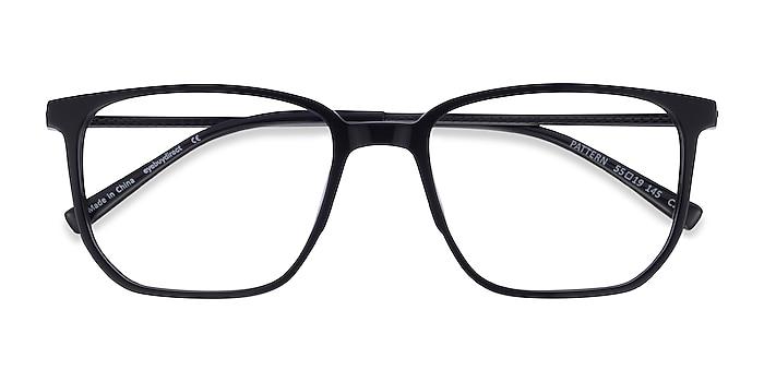 Noir Pattern -  Geek Acétate Lunettes de vue