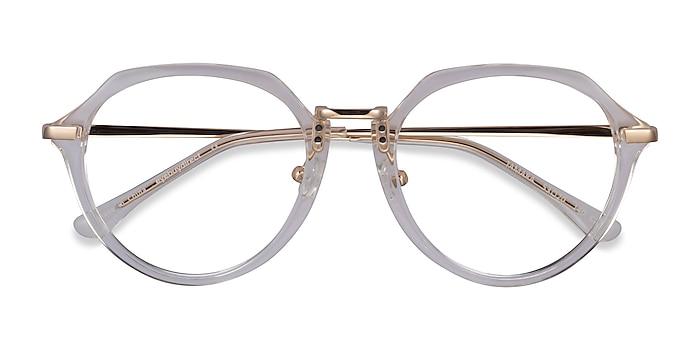 Clear Yellow Tamara -  Acetate Eyeglasses