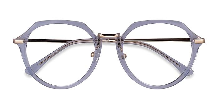 Clear Blue Tamara -  Acetate Eyeglasses