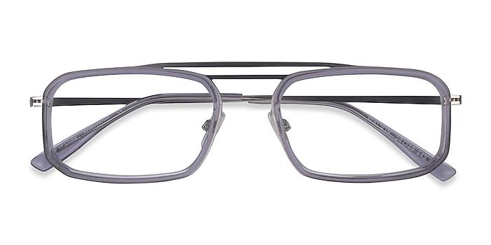Clear Gray  Silver Watson -  Acétate Lunettes de vue