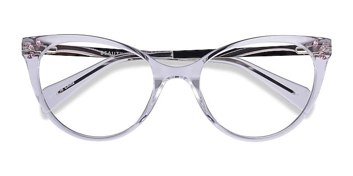 Clear Beauty -  Acetate, Metal Eyeglasses