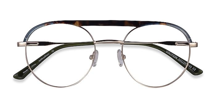 Gold &Tortoise Volition -  Acetate, Metal Eyeglasses