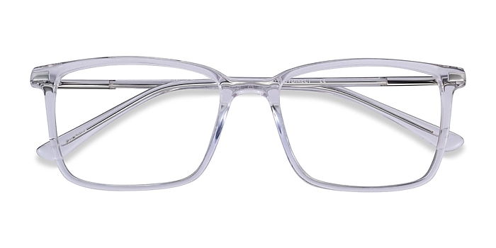Clear Button -  Acetate Eyeglasses