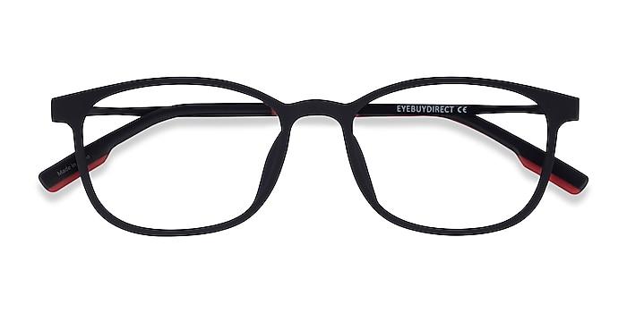 Matte Black  Idea -  Plastic Eyeglasses