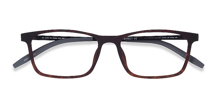 Matte Tortoise Black Rebus -  Metal Eyeglasses