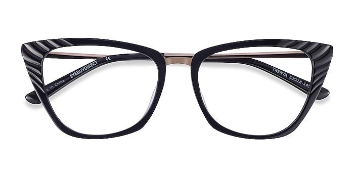 Black Gold Trenta -  Fashion Acetate Eyeglasses