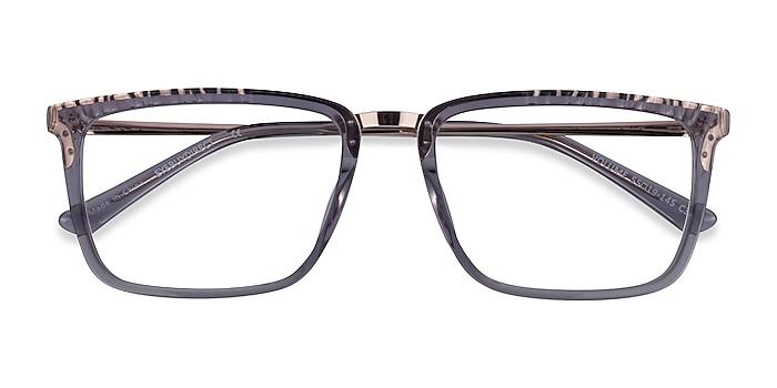 Clear Gray Volume -  Classic Acetate Eyeglasses
