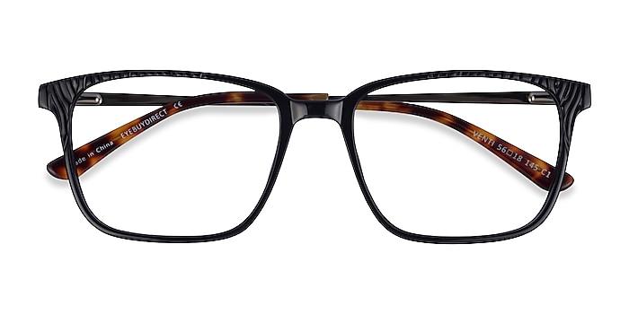 Black Venti -  Classic Acetate Eyeglasses