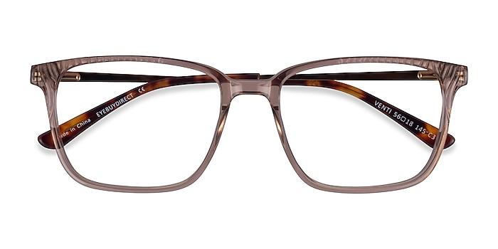 Clear Brown Venti -  Classique Acétate Lunettes de vue