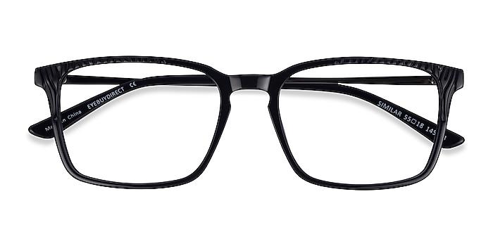 Black Similar -  Classic Acetate Eyeglasses