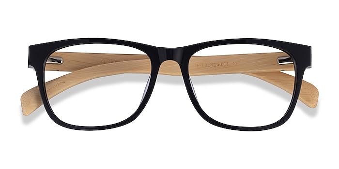 Black & Light Wood Reserve -  Acetate Eyeglasses