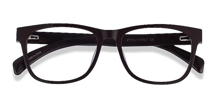 Brown & Dark Wood Reserve -  Acetate Eyeglasses