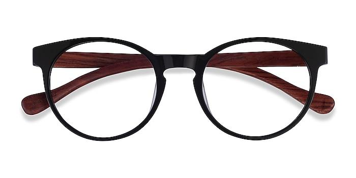 Green & Red Wood Everglades -  Acetate Eyeglasses