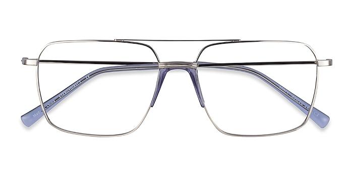 Silver Blue Matt -  Métal Lunettes de vue