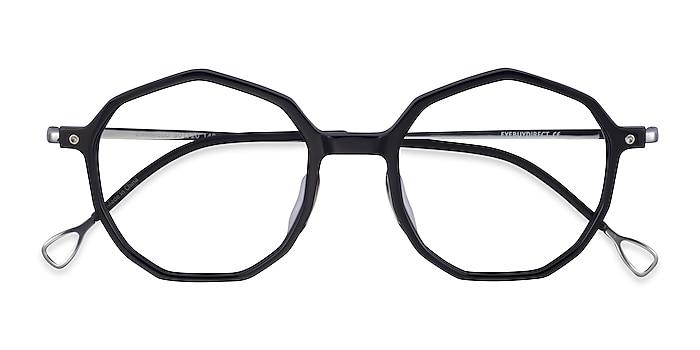 Black Silver Carmelo -  Acetate Eyeglasses