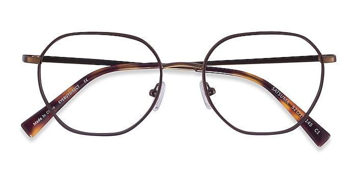 Brown Bronze Satsuma -  Acétate Lunettes de vue