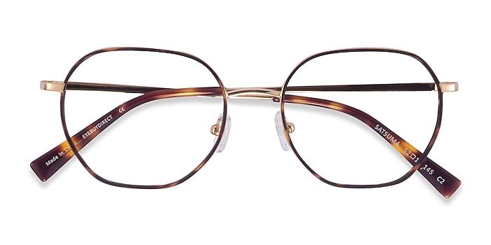 Tortoise Gold Satsuma -  Acetate Eyeglasses