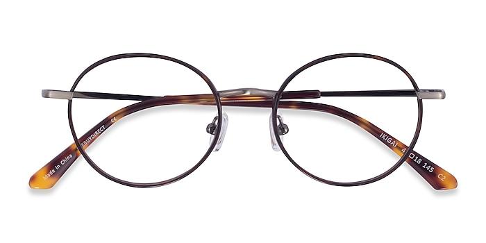 Tortoise Gunmetal Ikigai -  Acetate Eyeglasses