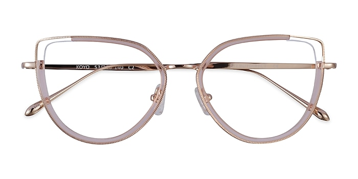 Champagne Gold Koyo -  Acetate Eyeglasses