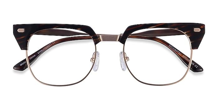 Tortoise Gold Nichibotsu -  Acetate Eyeglasses
