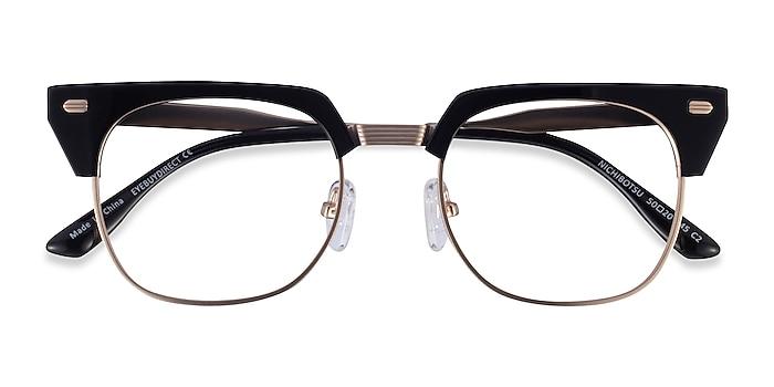 Black Gold Nichibotsu -  Acetate Eyeglasses