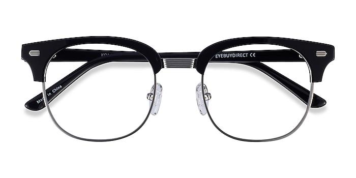 Black Silver Komorebi -  Acetate Eyeglasses