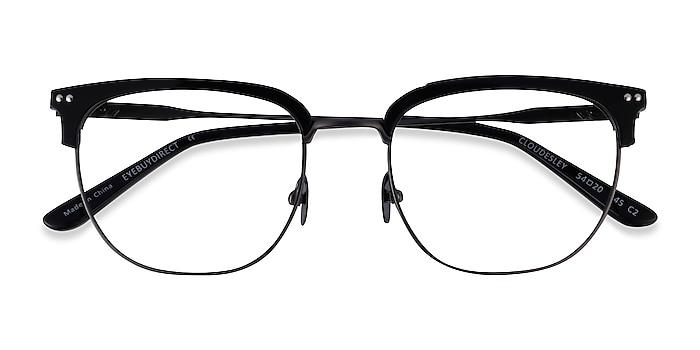Black Gunmetal Cloudesley -  Acetate Eyeglasses