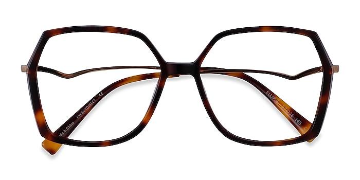 Tortoise Ellipse -  Acetate Eyeglasses