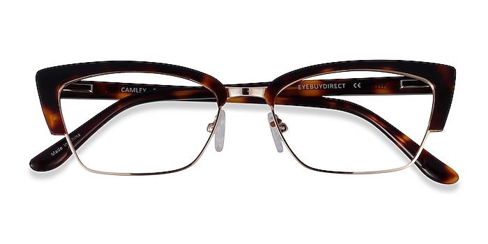 Tortoise Gold Camley -  Acetate Eyeglasses