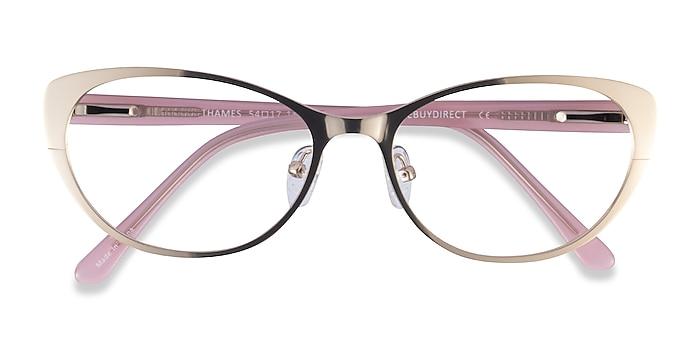 Gold Thames -  Acetate Eyeglasses