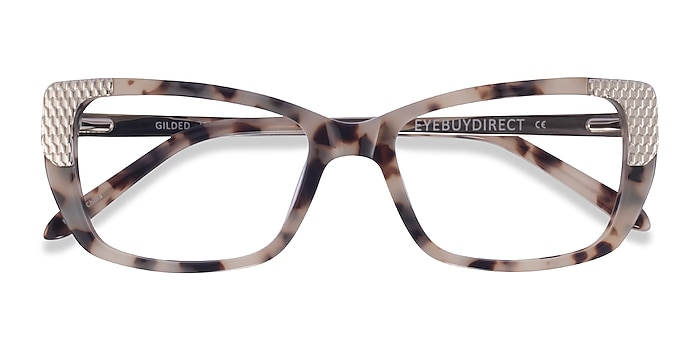 Ivory Tortoise Silver Gilded -  Acetate Eyeglasses