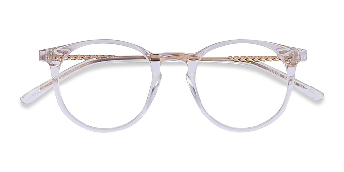Clear Volta -  Acetate Eyeglasses