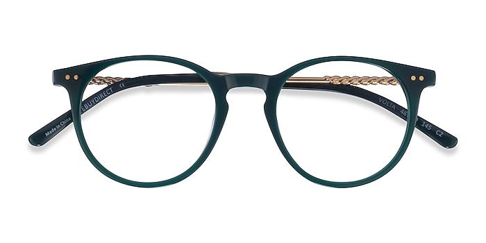 Dark Green Volta -  Acetate Eyeglasses