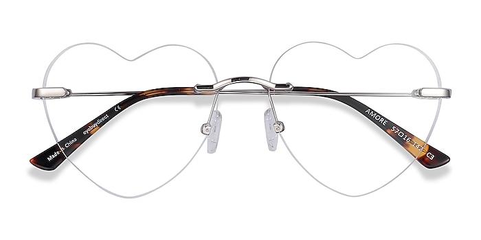 Silver Amore -  Fashion Metal Eyeglasses