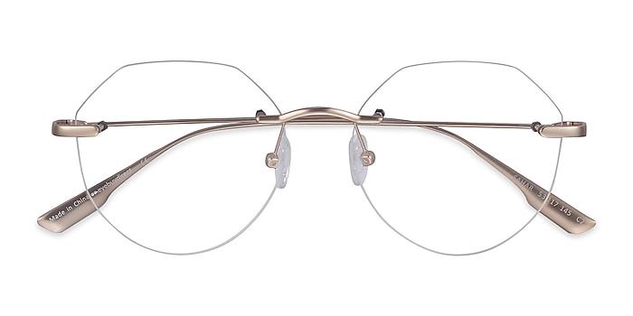Gold Sahar -  Fashion Metal Eyeglasses