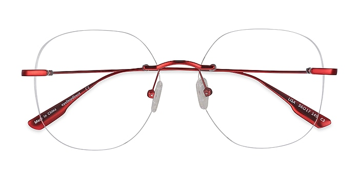 Red Lisa -  Fashion Metal Eyeglasses
