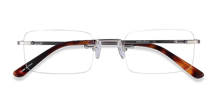 Silver Simplicity -  Fashion Metal Eyeglasses