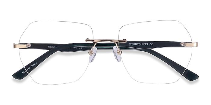 Light Gold Finsbury -  Acetate Eyeglasses