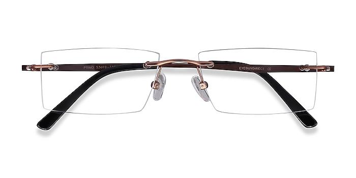 Coffee Primo -  Lightweight Metal Eyeglasses